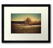 Last Winter Walk  Framed Print