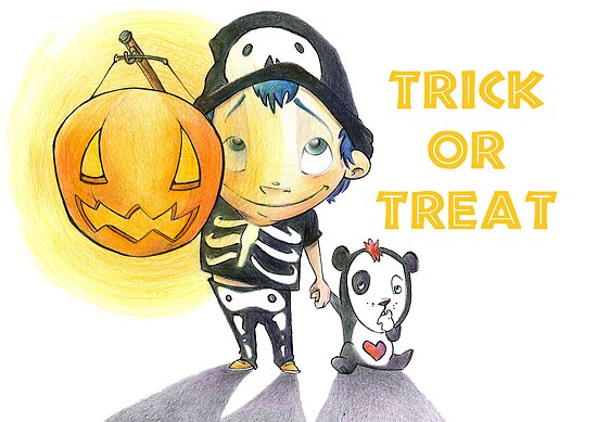 Trick or Treat by Laura Ewing Ferrer