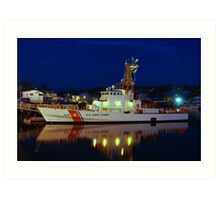 USCGC Grand Isle  - Gloucester, Massachusetts Art Print