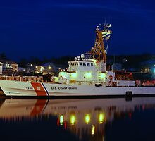 USCGC Grand Isle  - Gloucester, Massachusetts by Steve Borichevsky