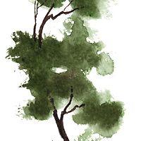 Little Zen Tree 152 by Sean Seal