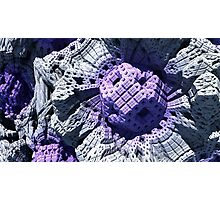 Purple Reign - Abstract Fractal Photographic Print