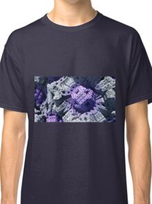 Purple Reign - Abstract Fractal Classic T-Shirt