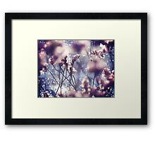 in the midst of it all. Framed Print