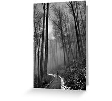 Black and White... Greeting Card