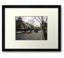 Bağdat Caddesi,Istanbul Framed Print