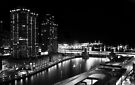 Night time - Chicago, IL by George Parapadakis (monocotylidono)