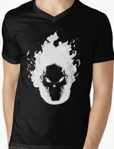 Ghost Rider Mens V-Neck T-Shirt