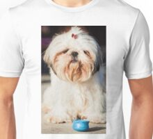 Roxy Shih-tzu  dog  Unisex T-Shirt