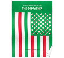 No028 My Godfather minimal movie poster Poster