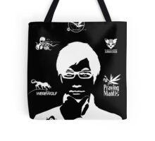 Hideo Kojima Metal Gear - Black Tote Bag