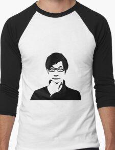 Hideo Kojima Men's Baseball ¾ T-Shirt