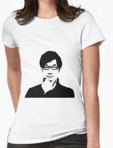 Hideo Kojima Womens Fitted T-Shirt