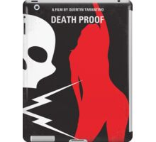 No018 My Death Proof minimal movie poster iPad Case/Skin