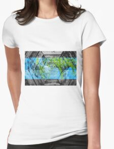 Elementz - Abstract CG Womens Fitted T-Shirt