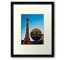 Romantic Paris Framed Print