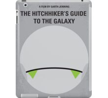 No035 My Hitchhiker Guide minimal movie poster iPad Case/Skin