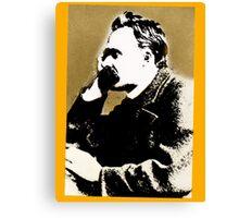 Frederich Nietzsche. Canvas Print