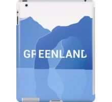 Colorful lands - GREENLAND iPad Case/Skin