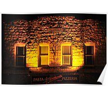 Boskos • Pasta & Pizza • 1888? Calistoga, California Poster