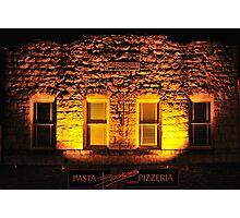 Boskos • Pasta & Pizza • 1888? Calistoga, California Photographic Print