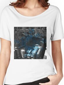 Meduse - Abstract Fractal Women's Relaxed Fit T-Shirt