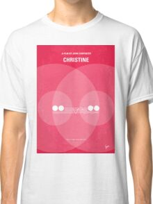 No016 My Christine minimal movie poster Classic T-Shirt
