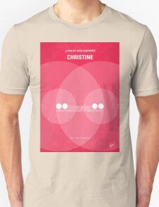 No016 My Christine minimal movie poster T-Shirt