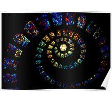Spiritual Spiral Poster