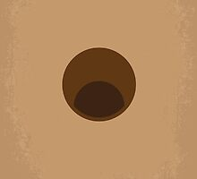 No031 My Groundhog minimal movie poster by JinYong
