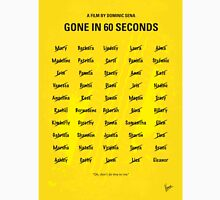 No032 My Gone In 60 Seconds minimal movie poster Unisex T-Shirt