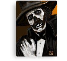 DR DEATH ! Canvas Print