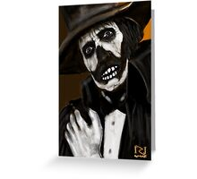 DR DEATH ! Greeting Card