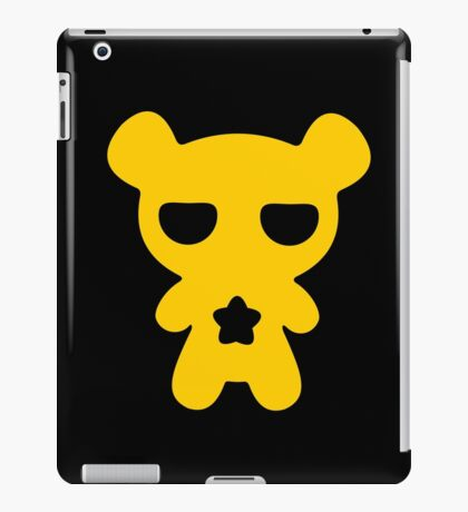 Lazy Bear Yellow Attention iPad Case/Skin