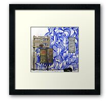 Conflict Resolution (Walls Notebook) Framed Print