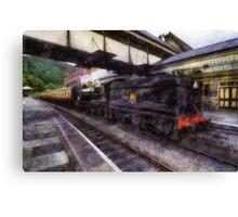 Steam Train Ride Canvas Print