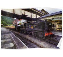 Steam Train Ride Poster