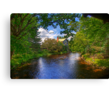 Old Mill Stream Canvas Print