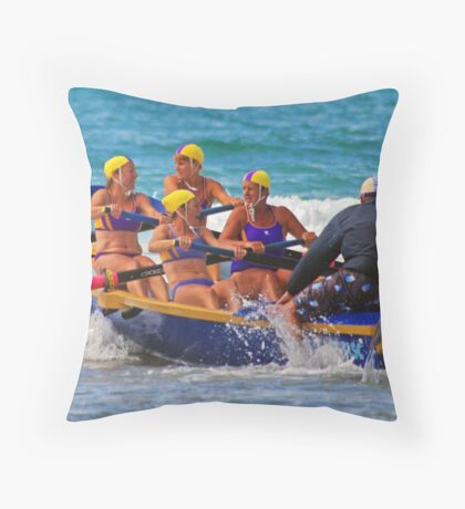 2011 Masters, Lorne (08) Throw Pillow
