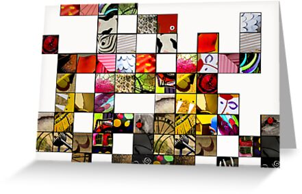 Abstractions by Penny Alexander