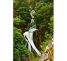 Snowdon Waterfall Photographic Print