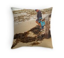 Watch Your Step! Throw Pillow