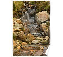 Snowdon Stream Poster