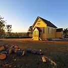 The Old Church Of Samford, Queensland, Australia. by Ralph de Zilva