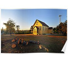 The Old Church Of Samford, Queensland, Australia. Poster