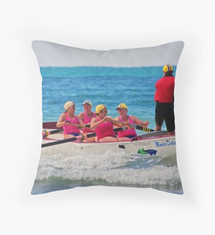 2011 Masters, Lorne (09) Throw Pillow