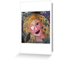 Athena Greeting Card