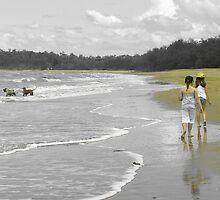 Beachcombing by Rebecca Holman