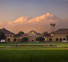 Stanford at sunrise by shoenberg3
