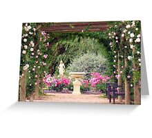 Scented Colonnade Greeting Card
